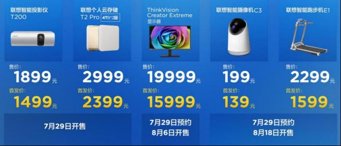六大新品覆盖四大场景 联想消费IoT刷新智能新生活